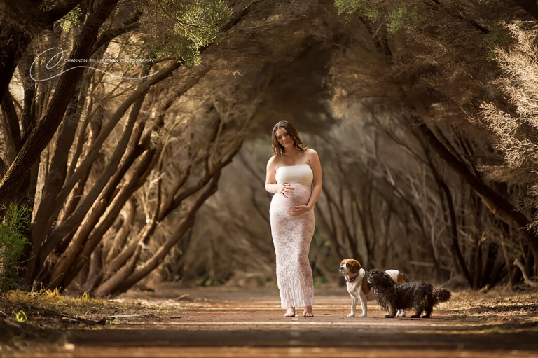 CY O' Connor Beach Maternity Session