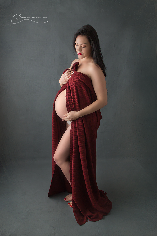 Stunning Studio Maternity Photos Perth