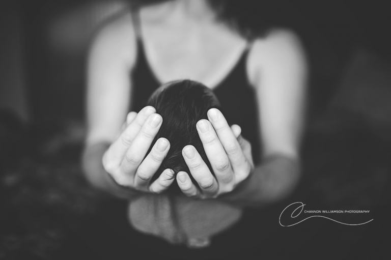 Perth newborn Photographer | Baby Cooper Newborn head