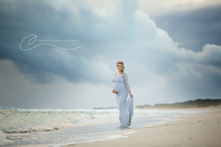 Pregnancy Photo at Yanchep beach