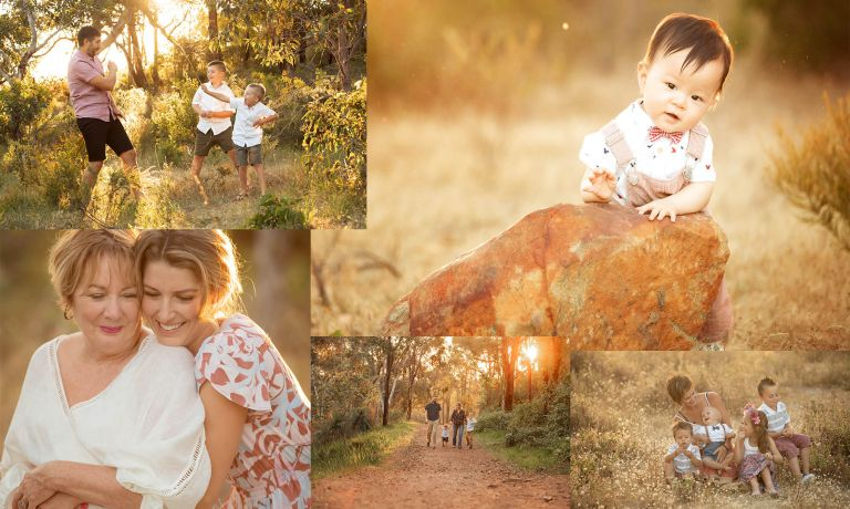Family photos in Perth